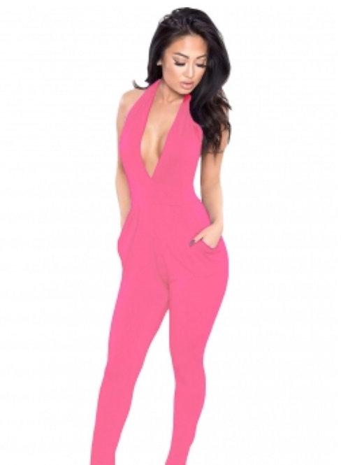 Pink Backout Jumpsuit