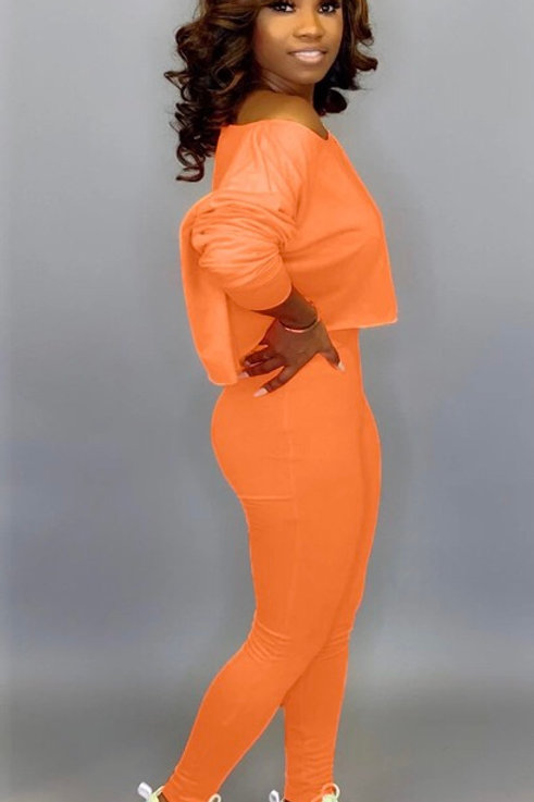 NiFa Orange Two Piece