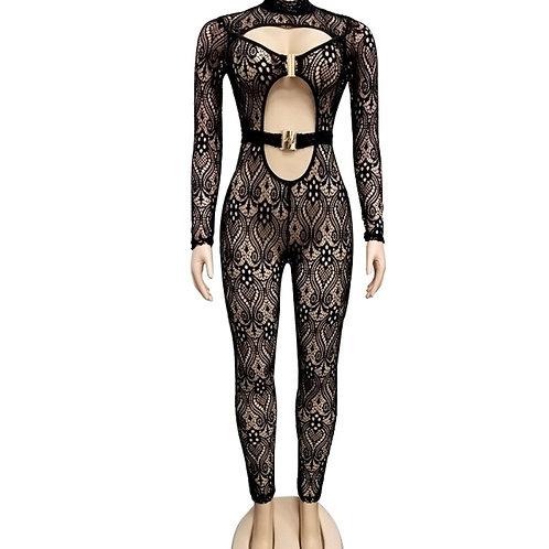 Selena black sensation jumpsuit
