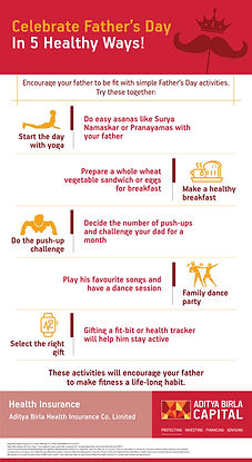 Celebrate Father Day In 5 Healthy Ways-0