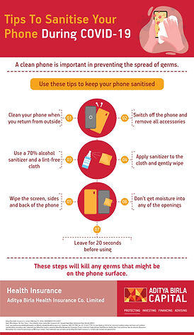 Phone Hygiene To Prevent The Spread Of G