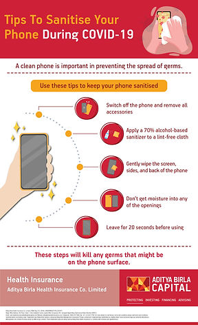 Tips To Sanitise Your Phone During COVID