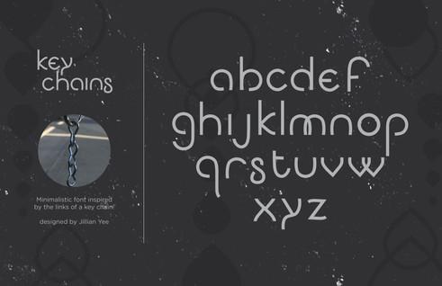Key Chain Font