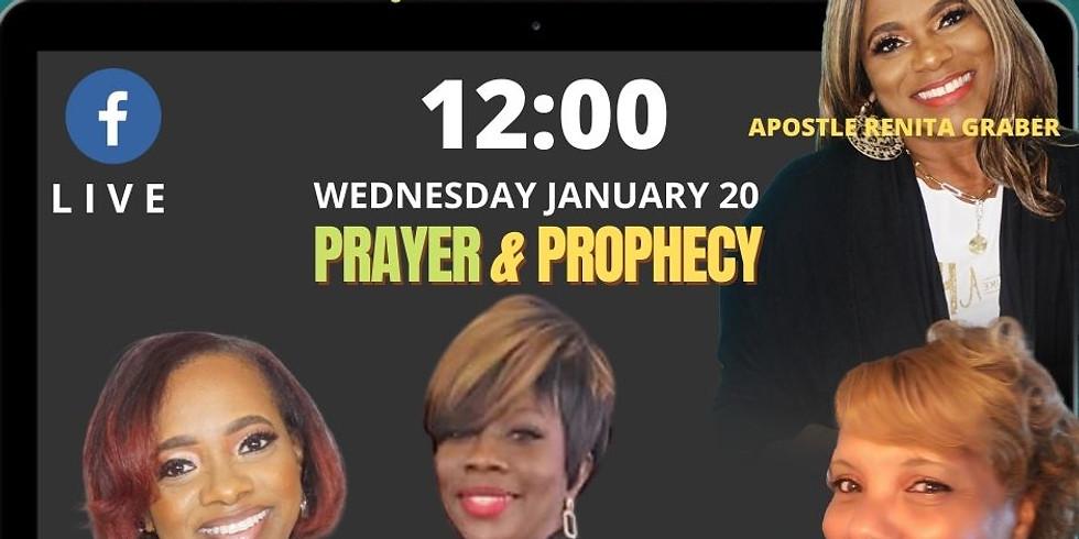VLife's NoonDay Prayer & Prophecy