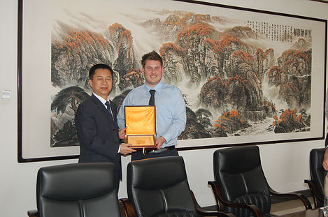 FORGING PARTNERSHIPS IN XIAN, CHINA