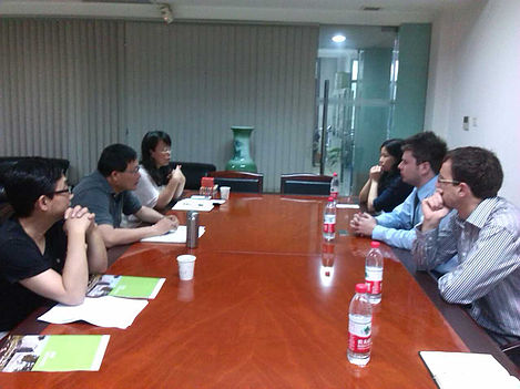 MEETINGS IN CHINA
