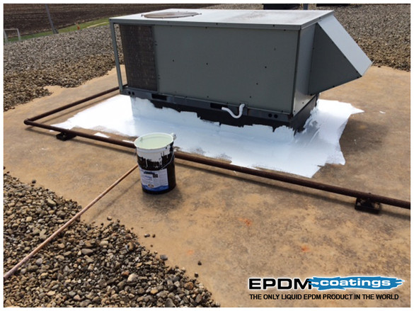 Top 5 benefits of using liquid EPDM rubber to fix roof leaks