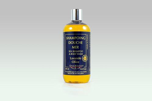 Shampoing-Douche mer Olive Lavande Romarin