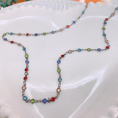 Colar Tiffany colorido