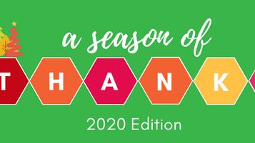 A Season of Thanks - 2020 Edition