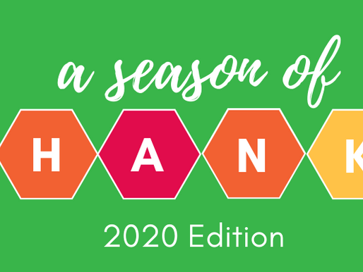 A Season of Thanks - 2020 Edition
