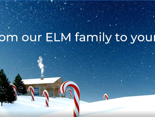 Happy Holidays from ELM