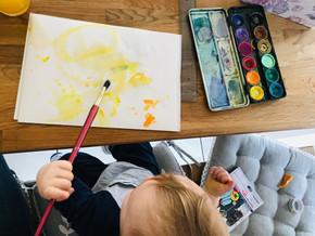 Kreativ trotz Kleinkind?