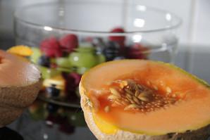 Melonen aus dem eigenen Garten