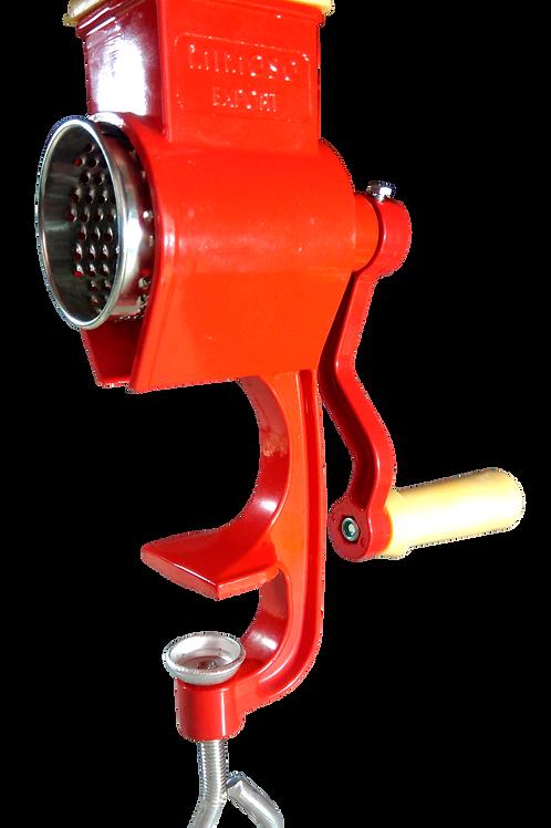 Ralador de Coco e Queijo - Alumínio Colorido (Vermelho)