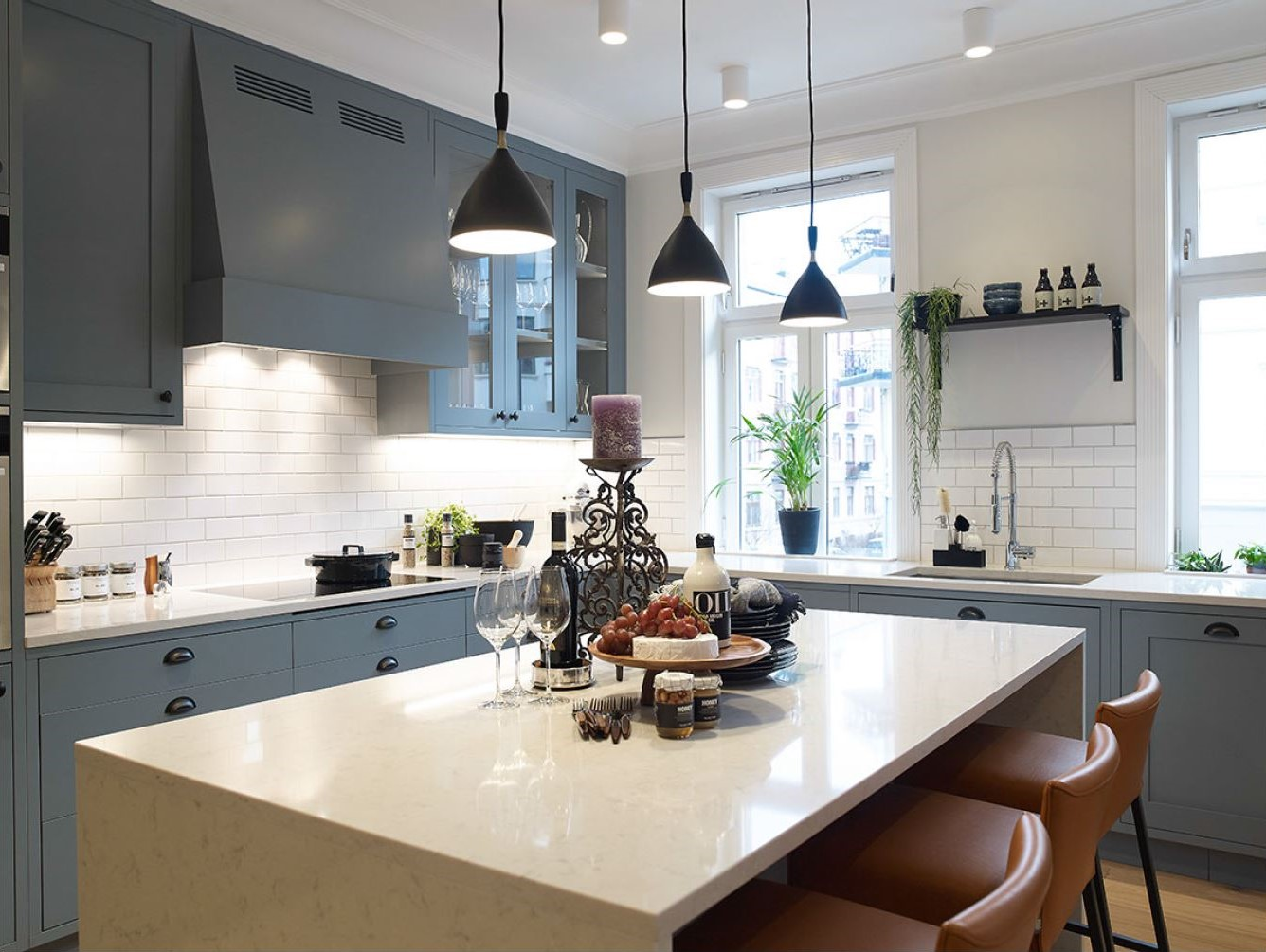 Nordby kjøkken, Shaker 6