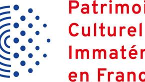 Inscription Officiel au Patrimoine Culturel Immatériel de France