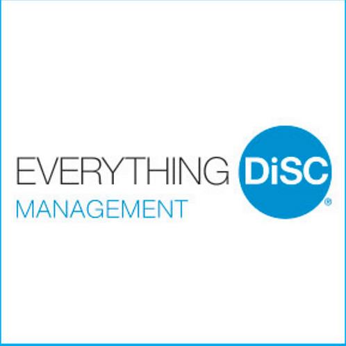 Everything DiSC Management Facilitator Kit