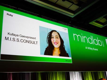 M.I.S.S.CONSULT  คว้ารางวัล ....จากงาน MINDLAB2019 โดย Wiley สหรัฐอเมริกา