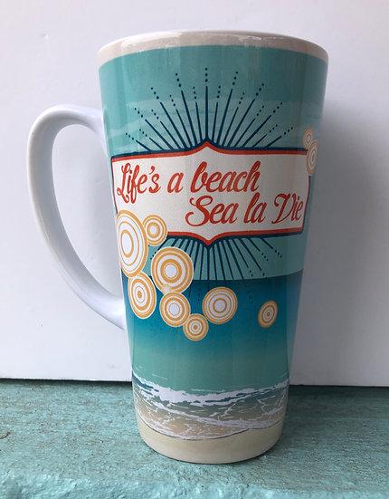 """""""Life's A Beach"""" Mug"""