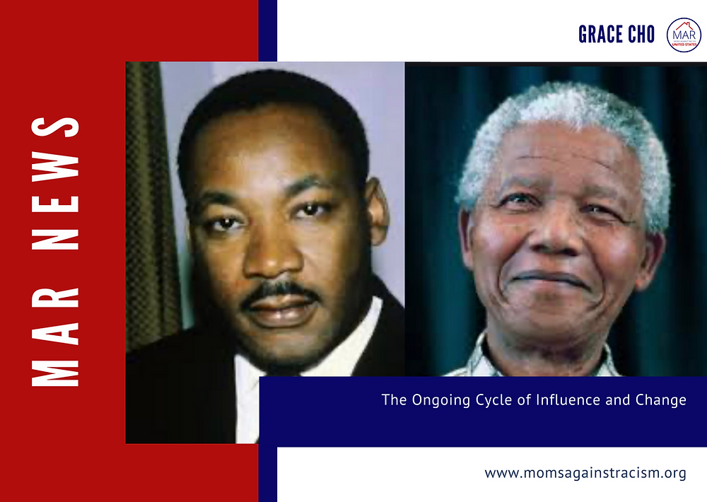 The connection between Martin Luther King Jr and Nelson Mandela