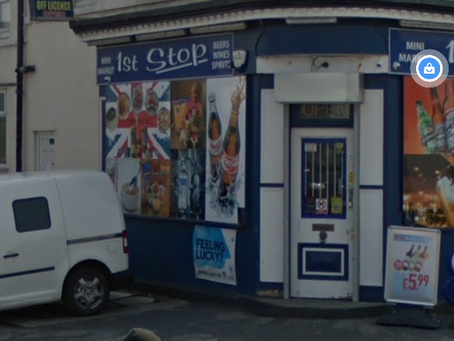 Knifeman threatens Southport shop worker, robs store