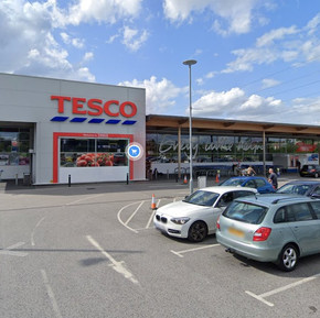 Man enters Tesco with knife, store evacuated