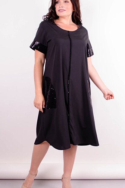 A delicate and light summer dress made of high-quality soft T-shirt fabric. Section A, not attached