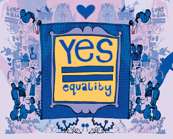 Yes = Equality, 2017