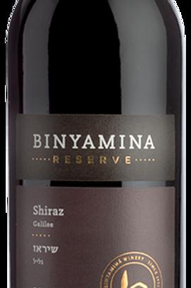 Binyamina réserve SHIRAZ 2017 13,5 % vol. 75cl