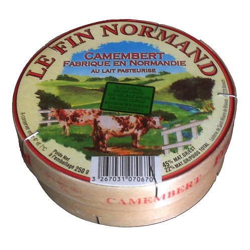 CAMEMBERT LE FIN NORMAND 250GR