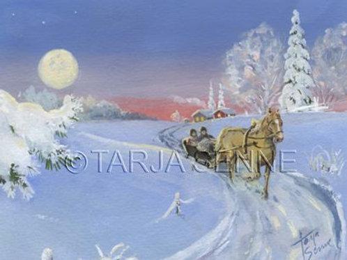 A3 juliste, SE16 Joulureessä