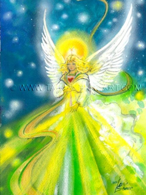 Kortti, card SE217 Annabel - enkeli