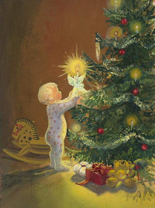 Kortti, Card SE6 Poika ja joulukuusi