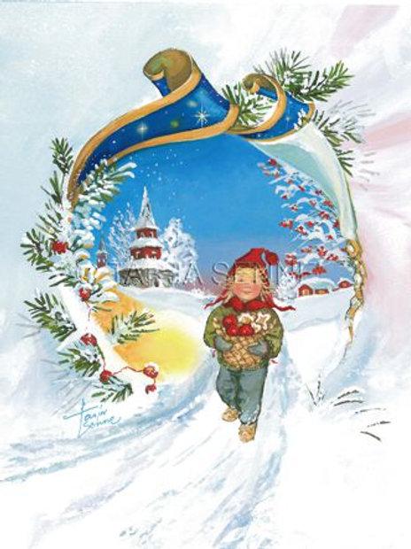Kortti, Card, SE43 lapsi ja joulukantamukset