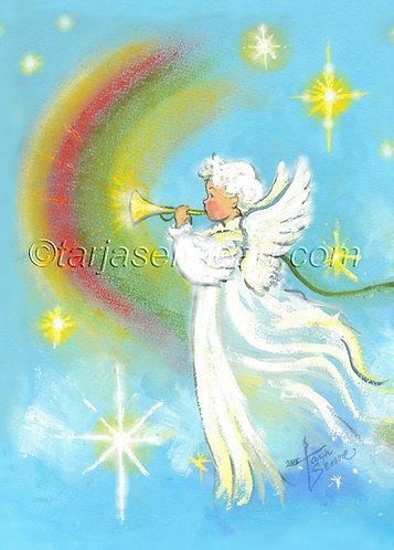 Kortti, card SE243 Enkeli taivaan