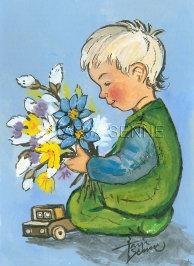 Kortti, Card, SE201 Poika ja kukat