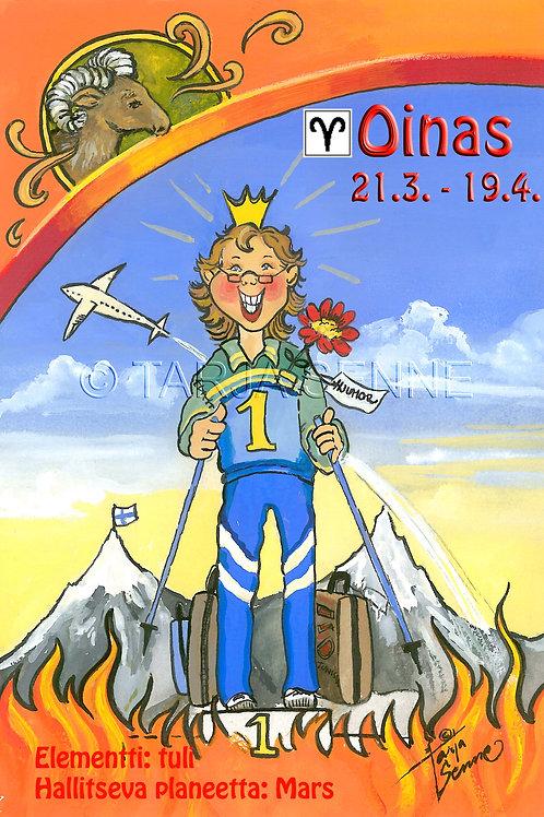 Kortti, Card,SE164 Oinas