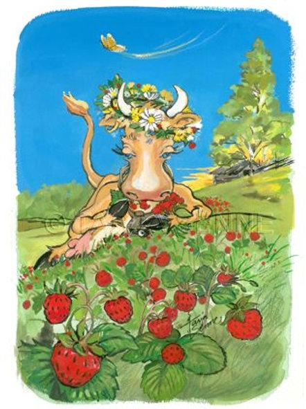 Kortti, Card, SE137 Lehmän herkkuhetki