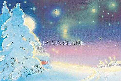 Kortti, card SE99 Joulun valo