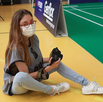 Volunteer of the month - Malou Brun
