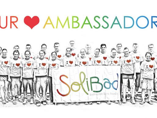 New ambassadors soon to be revealed!