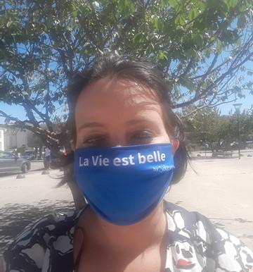 Volunteer of the month - Nathalie AHUES