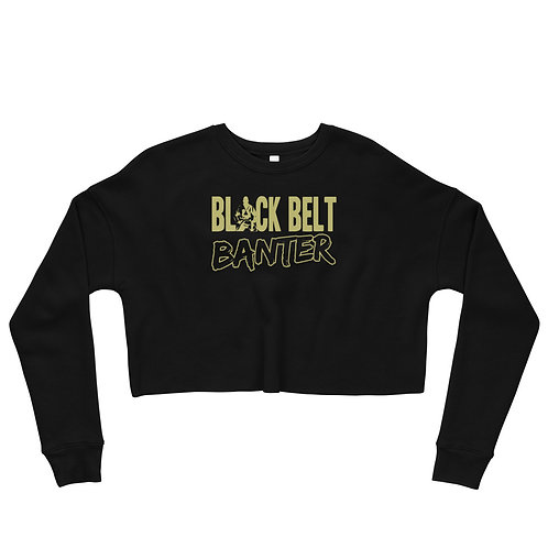 BBB Signature Design Crop Sweatshirt - Black