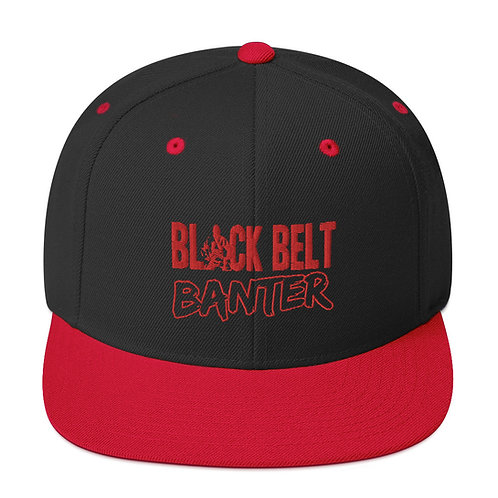 BBB Signature Snapback Cap - Red Print