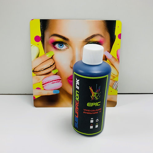 Epic Sublimation Ink - 100ml Cyan Dye Sub for Epson