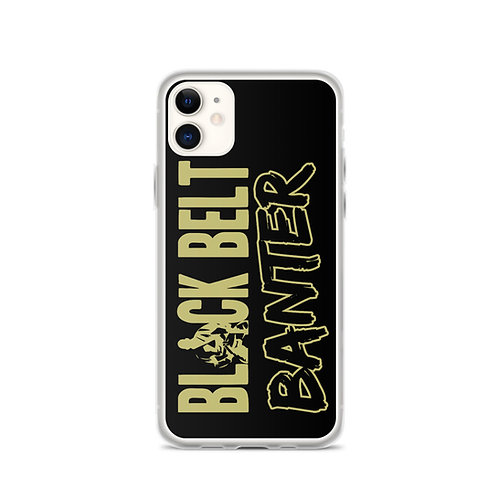 BBB Signature Matt Gold Design iPhone Phone Case