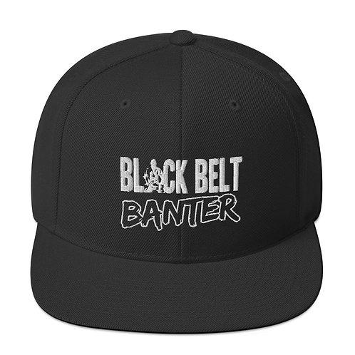 BBB Signature Snapback Cap - White Print