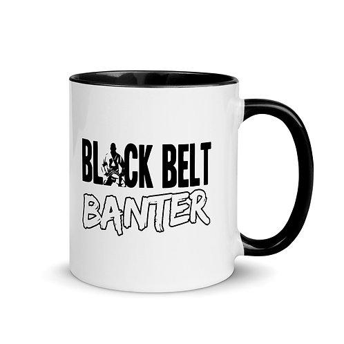 BBB Signature Black Print Mug - Black Inside