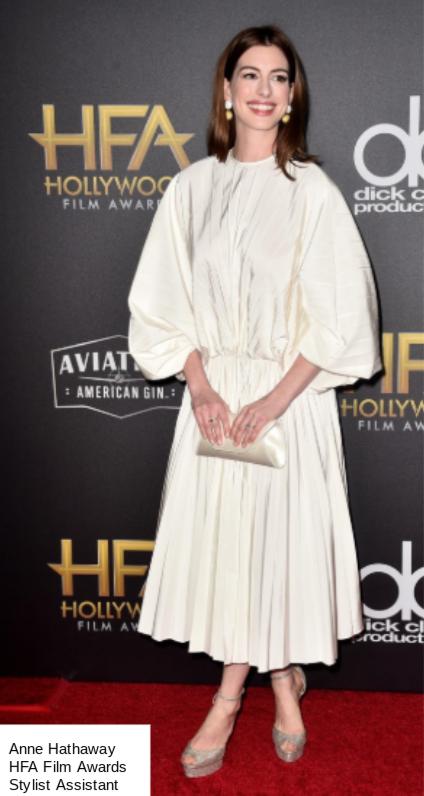 Anne Hathaway HFA Awards